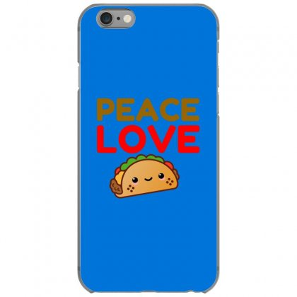 Peace Love Taco Iphone 6/6s Case Designed By Perfect Designers