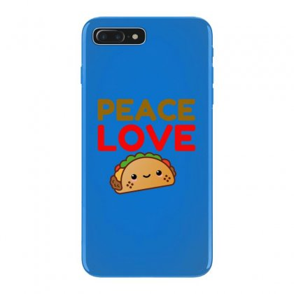 Peace Love Taco Iphone 7 Plus Case Designed By Perfect Designers