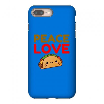 Peace Love Taco Iphone 8 Plus Case Designed By Perfect Designers