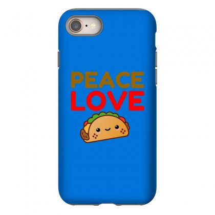 Peace Love Taco Iphone 8 Case Designed By Perfect Designers
