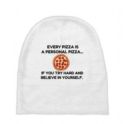 Personal Pizza Baby Beanies Designed By Perfect Designers