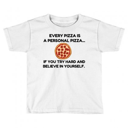 Personal Pizza Toddler T-shirt Designed By Perfect Designers
