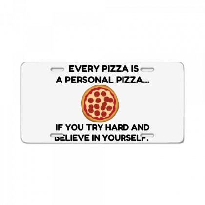 Personal Pizza License Plate Designed By Perfect Designers