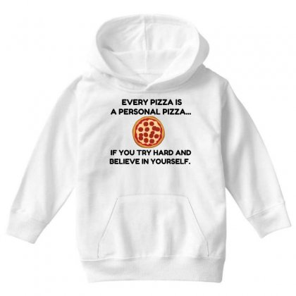 Personal Pizza Youth Hoodie Designed By Perfect Designers