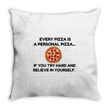 Personal Pizza Throw Pillow Designed By Perfect Designers