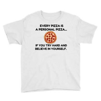 Personal Pizza Youth Tee Designed By Perfect Designers