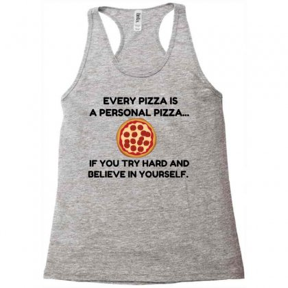 Personal Pizza Racerback Tank Designed By Perfect Designers