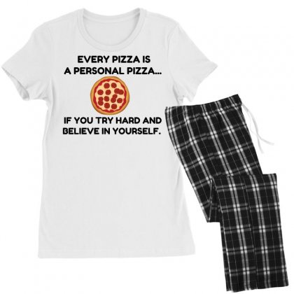 Personal Pizza Women's Pajamas Set Designed By Perfect Designers