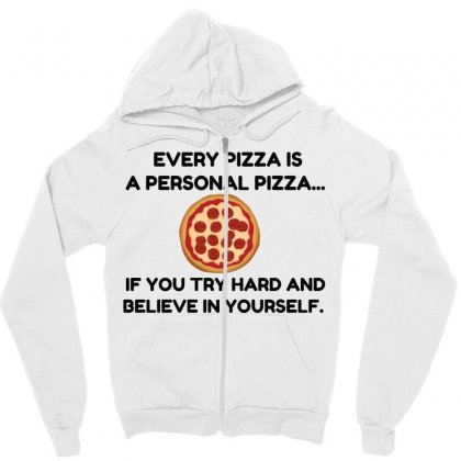 Personal Pizza Zipper Hoodie Designed By Perfect Designers