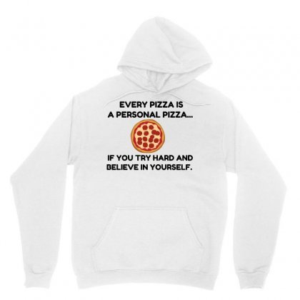 Personal Pizza Unisex Hoodie Designed By Perfect Designers