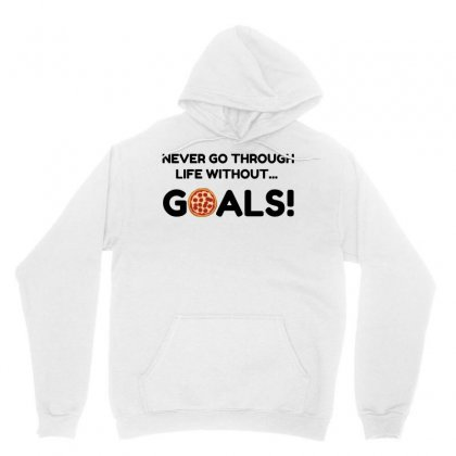 Pizza Goals Unisex Hoodie Designed By Perfect Designers