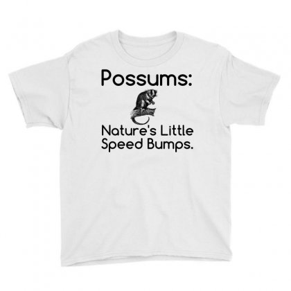 Possums Speed Bumps Youth Tee Designed By Perfect Designers