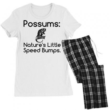 Possums Speed Bumps Women's Pajamas Set Designed By Perfect Designers