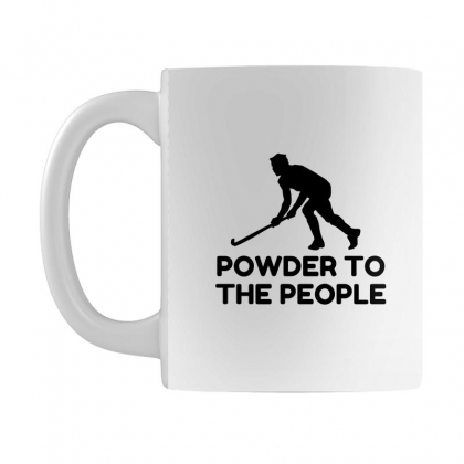 Powder Snow To The People Ski Mug Designed By Perfect Designers