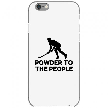 Powder Snow To The People Ski Iphone 6/6s Case Designed By Perfect Designers