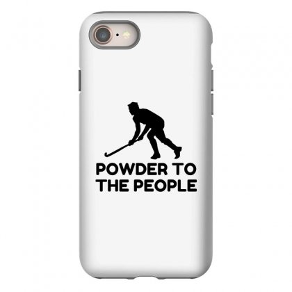 Powder Snow To The People Ski Iphone 8 Case Designed By Perfect Designers