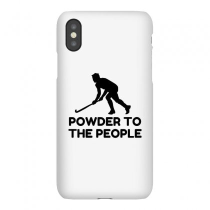 Powder Snow To The People Ski Iphonex Case Designed By Perfect Designers