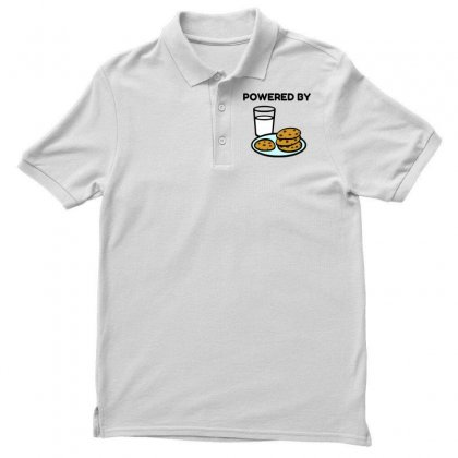 Powered By Cookies Polo Shirt Designed By Perfect Designers