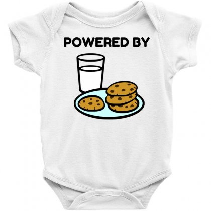 Powered By Cookies Baby Bodysuit Designed By Perfect Designers