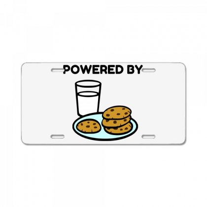 Powered By Cookies License Plate Designed By Perfect Designers