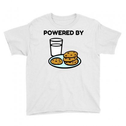 Powered By Cookies Youth Tee Designed By Perfect Designers