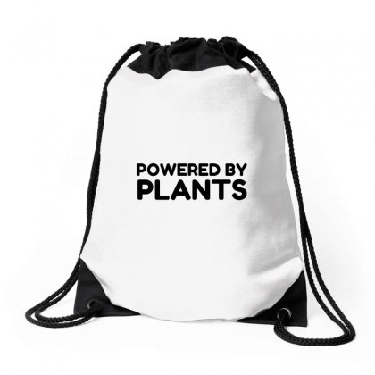 Powered By Plants Drawstring Bags Designed By Perfect Designers