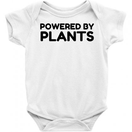 Powered By Plants Baby Bodysuit Designed By Perfect Designers