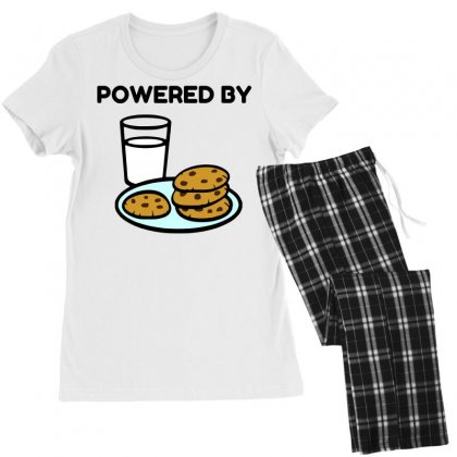 Powered By Cookies Women's Pajamas Set Designed By Perfect Designers
