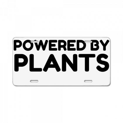 Powered By Plants License Plate Designed By Perfect Designers