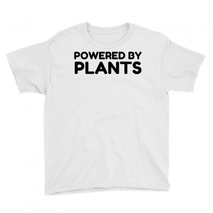 Powered By Plants Youth Tee Designed By Perfect Designers