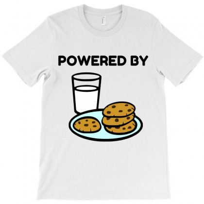Powered By Cookies T-shirt Designed By Perfect Designers