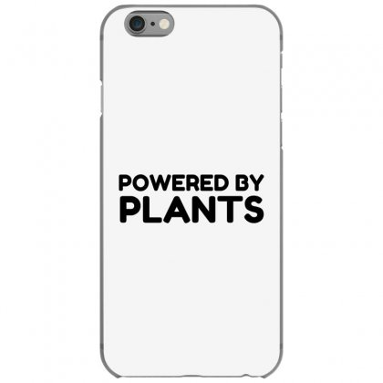 Powered By Plants Iphone 6/6s Case Designed By Perfect Designers