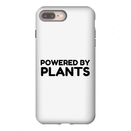 Powered By Plants Iphone 8 Plus Case Designed By Perfect Designers