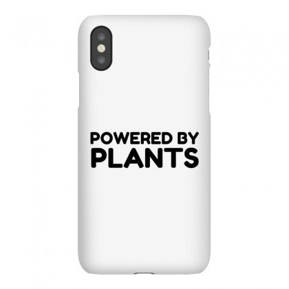 Powered By Plants Iphonex Case Designed By Perfect Designers