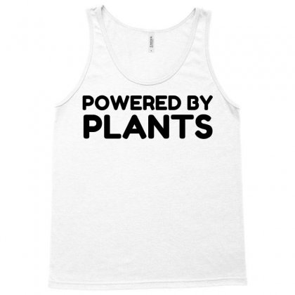 Powered By Plants Tank Top Designed By Perfect Designers