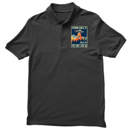 Storm Area 51 Shirt Alien Ufo They Can't Stop Us Polo Shirt Designed By Tran Ngoc