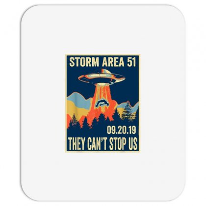 Storm Area 51 Shirt Alien Ufo They Can't Stop Us Mousepad Designed By Tran Ngoc