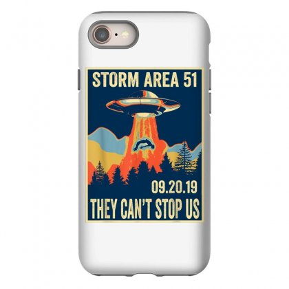 Storm Area 51 Shirt Alien Ufo They Can't Stop Us Iphone 8 Case Designed By Tran Ngoc
