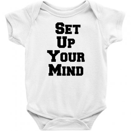 Set Up Your Mind Baby Bodysuit Designed By Perfect Designers