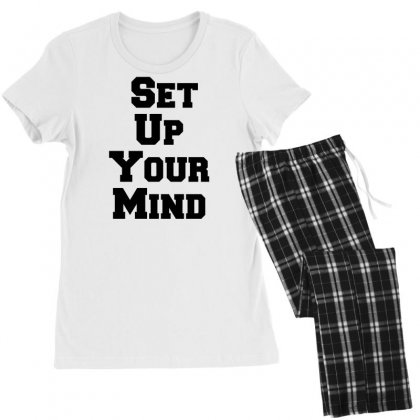 Set Up Your Mind Women's Pajamas Set Designed By Perfect Designers