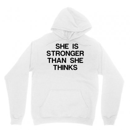 She Is Stronger Than She Thinks Unisex Hoodie Designed By Perfect Designers
