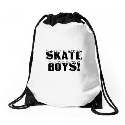 Skate Boys Drawstring Bags Designed By Perfect Designers