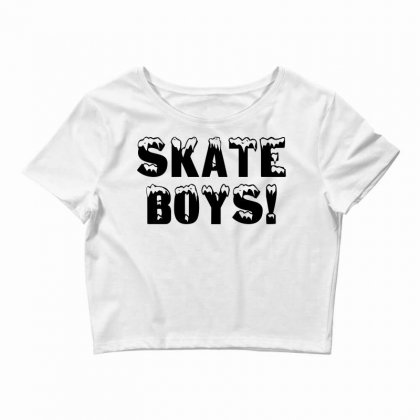 Skate Boys Crop Top Designed By Perfect Designers