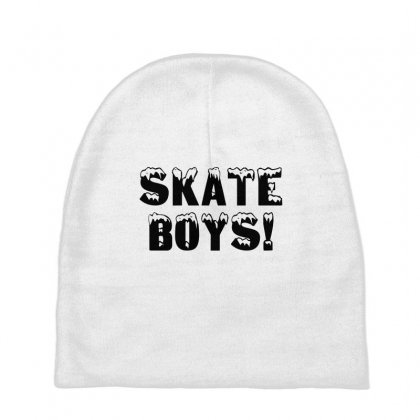 Skate Boys Baby Beanies Designed By Perfect Designers