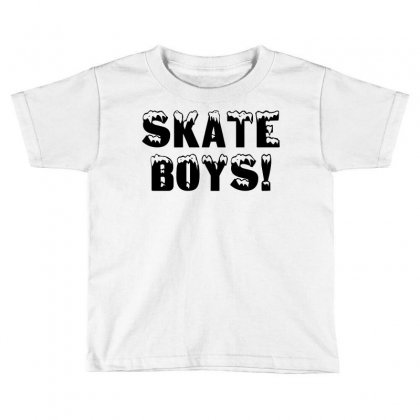 Skate Boys Toddler T-shirt Designed By Perfect Designers