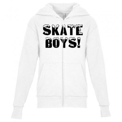 Skate Boys Youth Zipper Hoodie Designed By Perfect Designers
