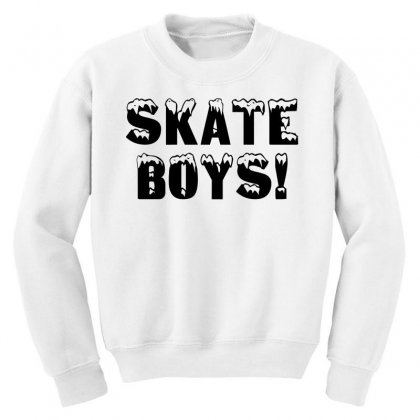 Skate Boys Youth Sweatshirt Designed By Perfect Designers