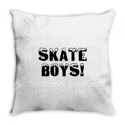 Skate Boys Throw Pillow Designed By Perfect Designers