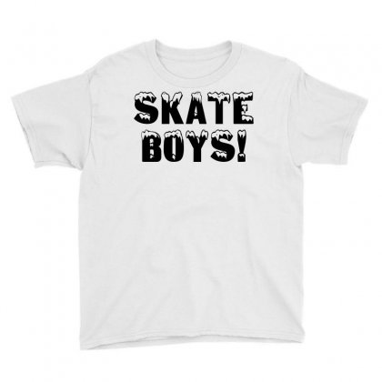 Skate Boys Youth Tee Designed By Perfect Designers