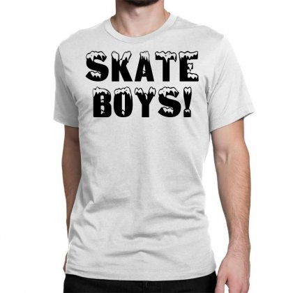 Skate Boys Classic T-shirt Designed By Perfect Designers